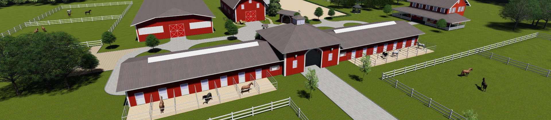 Operating concept for the project of equestrian centre planning