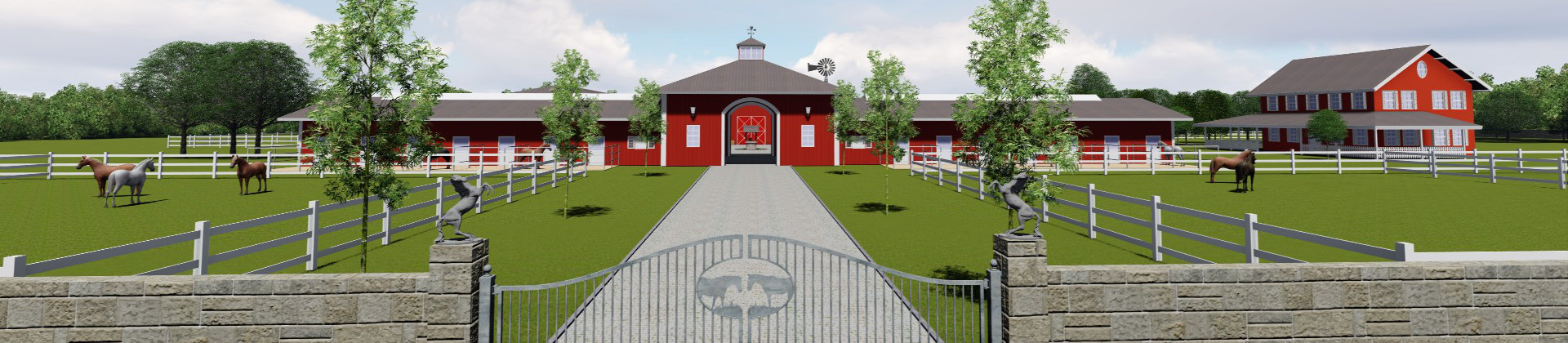 Equestrian centres and stud premises planning