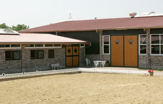 Planning of stable facilities for the mare breeding