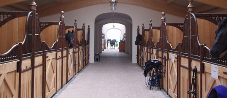 Baroque riding stable planning