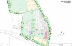 Masterplan: Extension of an existing horse homestead