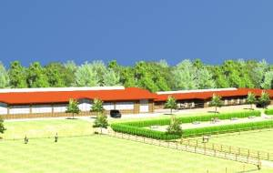 Equestrian centres for dressage horses