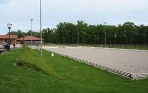 Equestrian centre for the dressage