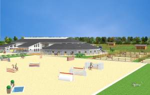 Construction of a riding arena