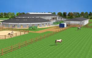 Project for an equine facility