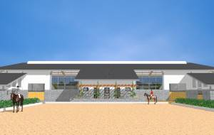 Development of a riding stable