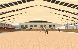 Construction of dressage facilities
