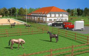 Veterinary clinic for horses